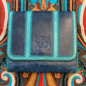 """Cate Adair Tri-Fold Wallet French Purse """"Lucina"""""""